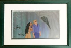 Pocahontas Very Rare Signed Limited Edition Hand Painted Cel A Good Soul