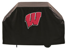 Ncaa - Wisconsin W Grill Cover College Team Logo