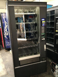 Glass Front Snack Vending Machine Refurb Crane National 148 Coins/bills And Cc