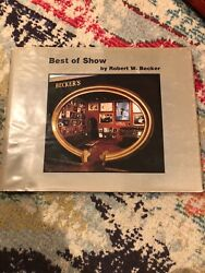 Best Of Show By Robert W. Becker Rare Vintage Book Coffee Table Photograhy Art