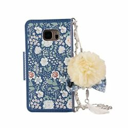 Samsung Galaxy Series Women's Handbag Case with Leather Wallet Case with Chian