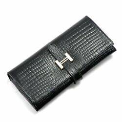 Korean Style Soft Lady Purse Long Clutches Genuine Leather Drawstring Wallet wit