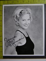 Authentic Signed Autographed Photo Jenna Elfman Dharma And Greg Keeping The Faith