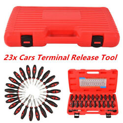 23Pcs/Set Car Wire Terminal Connector Release Removal Tool Crimp Pin Extractor