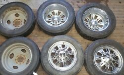 19.5 Weld Racing Wheels Rims 8 Lug 6.5 Dodge Ford Chevy Truck 1960-2010 Dually