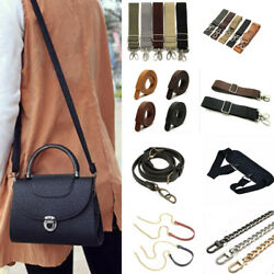 19 Replacement Canvas Chain Leather Nylon Carrying Shoulder Crossbody Bag Straps