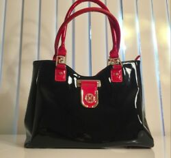 Handbags Julia amp; Michael black with red limited editionluxurious $39.00