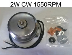 WR60X179 REFRIGERATOR CONDENSER FAN MOTOR REPLACEMENT - 2W CW 1550RPM - REPLACES