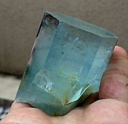 204 Grams Top Quality St Super Gemmy And Lusterous Aquamarine Crystal