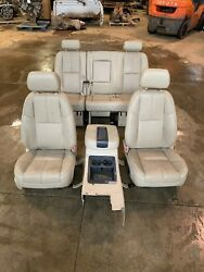 Suburban Yukon Denali Xl Front And Center Seats With Center Console