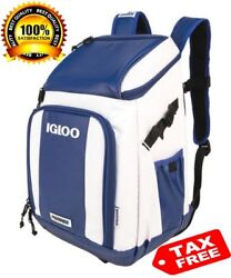 Backpack Cooler Igloo Outdoors Hiking Camping Fishing Hunting Sports Portable