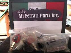 Ferrari Part 223867 Ignition Switch And Door Cylinders Lock Set With Code Card, 59