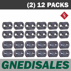 800 Series Stump Grinder Pockets, Fits 3/4 Shank Teeth, 12 C/s And 12 F/t