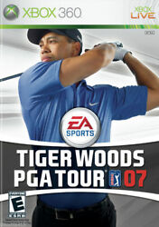 Tiger Woods Pga Tour 07 Microsoft Xbox 360, 2006 Complete With Manual