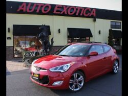 2016 Veloster -- 1.6L I4 132 HP 120 LBS FT 6 Speed Manual Hyundai Boston Red
