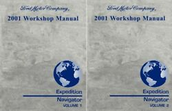 2001 Ford Expedtion, Lincoln Navigator Shop Service Repair Manual
