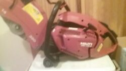Hilti Dsh 700-x 14 In. Hand Held Gas Concrete Saw