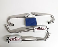 Yamaha Raptor 700 Empire Industries Dual Shorty Exhaust And Dynojet Fusion