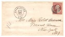 Robert Anderson Ink Signature - Sent From Fort Sumter Three Weeks Before Battle