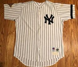 Mariano Duncan Game Used 1996 World Series New York Yankees Home Jersey