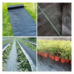 5m Weed Control Fabric Barrier Cloth Cover Agriculture Greenhouse Garden Orchard