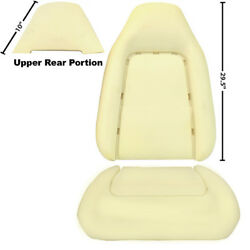 19701974 Challenger Front Bucket Seat Back And Bottom Cushions 3 Pieces Dynacorn