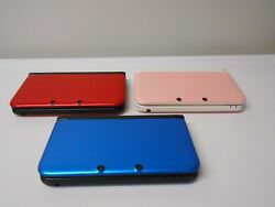 Nintendo 3ds Xl Systems W/charger Bundle Select Options And Color Free Ship System