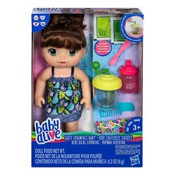 Baby Alive Sweet Baby Spoonfuls Brunette Girl Baby Doll Food Included