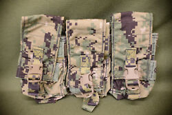 Navy Seal Eagle Triple Mag Pouch Soflcs Aor2 12/14 3