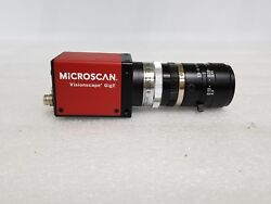 Microscan Cmg20 Ccd Camera 98-000119-01 Visionscape Gige + 35mm Lens