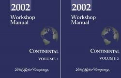 2002 Lincoln Continental Shop Service Repair Manual