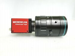 Microscan Cmg50 Ccd Camera 98-000120-01 Visionscape Gige + 25mm Lens