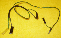 1966 Mustang Fastback Coupe Gt Convertible Orig Deluxe Seat Belt Light Wiring