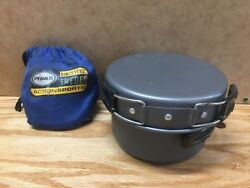 PRIMUS Ultralight Backpacking Gas Butane Propane Stove and cooking kit