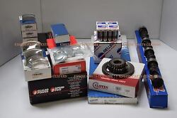 Buick 455 Perf Deluxe Engine Kit Hyp Pistons+rings+op+comp 260h Cam Valves Rcker