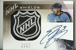 Evander Kane / Colin Wilson 09/10 Ud The Cup Dual Nhl Rookie Auto Shields 1/1