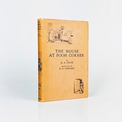 A. A. Milne The House At Pooh Corner - First Edition