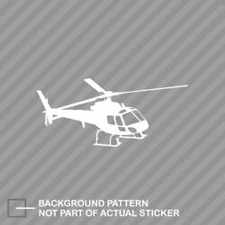 Flying Eurocopter As350 Helicopter Sticker Die Cut Decal Vinyl