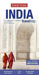 Insight Travel Map India By Apa Publications Limited