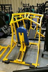 Hammer Strength Iso Lateral Leg Press Commercial Plate Loaded Machine