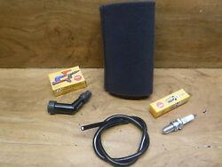 1982 Honda Atc 185 S Atc185s Air Filter Airfilter Spark Plug And Cap Coil Wire