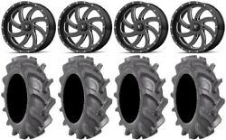 Msa Milled Switch 18 Wheels 35 Bkt At 171 Tires Can-am Commander Maverick