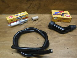 1981 Honda Atc 200 Atc200 Ngk Spark Plug And Coil Cap Boot Cover And Coil Wire Free