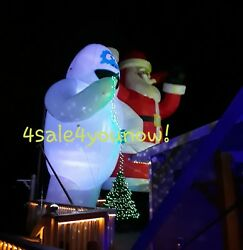 25' Foot Inflatable Bumble The Abominable Snowman Rudolph Christmas Custom Made