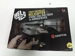 HELO TC Touch Controlled Helicopter for iPhone iPad iPod touch or Android