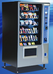 Epic Premium Candy Chip & Snack Vending Machine AMS 45 Select w/Coin & Bill Mech
