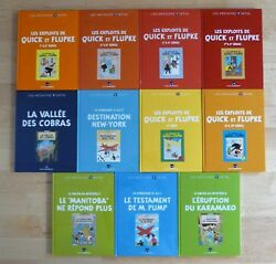 Tintin Complete Collection Les Archives HergÉ Jo Zette And Jocko, Quick And Flupke