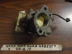 Johnson Evinrude OMC 40HP CARBURATOR BODY ASSY. 0385357379486