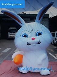 30' Foot Snowball Easter Rabbit Inflatable ..the Secret Life Of Pets Rare