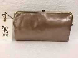 Hobo Bags Genuine Leather Lauren Cameo Clutch Wallet Coin Purse Retail $138